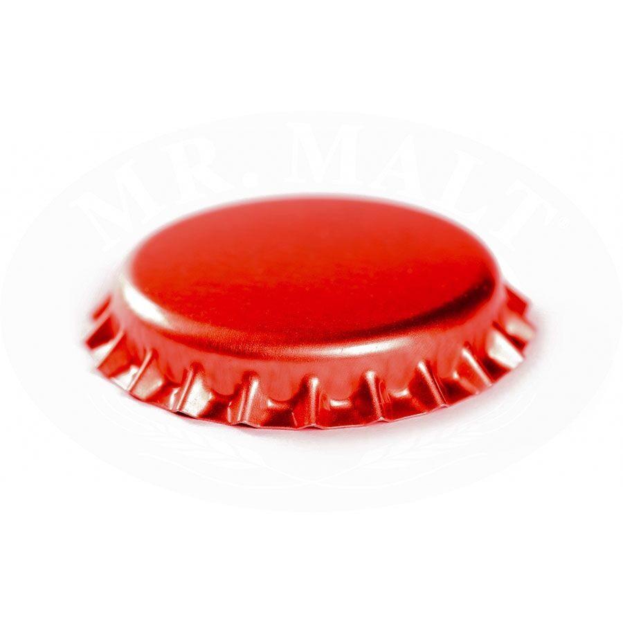 Krona korķi 26mm, sarkani (100 gab.)