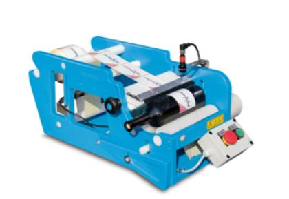 STELLIN FleXlabeller PE-E Pusautomātiska etiķešu līmēšanas iekārta apaļām pudelēm