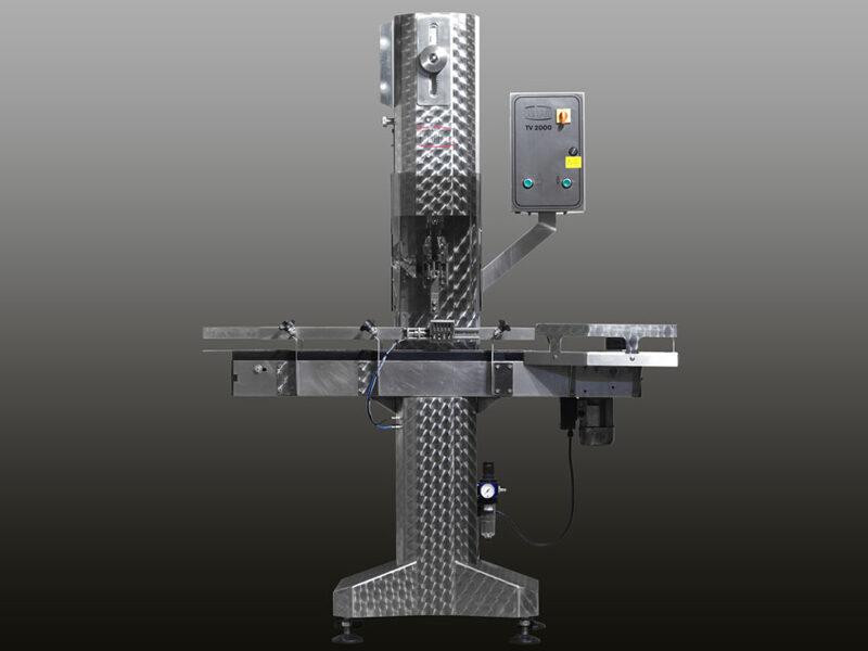 KTM-Troxler Korķēšanas iekārta metāla un alumīnija korķu uzlikšanai