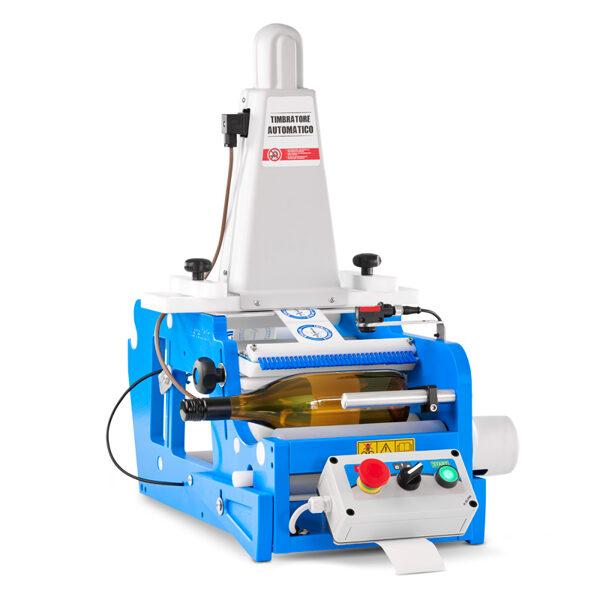 STELLIN FleXlabeller PE-ET Pusautomātiska etiķešu līmēšanas iekārta apaļām pudelēm