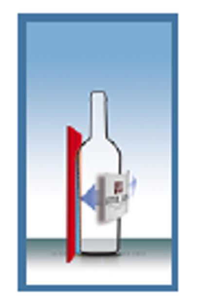 STELLIN FleXlabeller Konisku pudeļu etiķetes līmēšanas aksesuārs