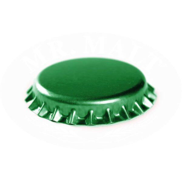 Krona korķi 29mm, zaļi (100 gab.)