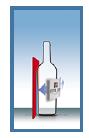 STELLIN FleXlabeller Šampānieša pudeļu etiķetes līmēšanas aksesuārs
