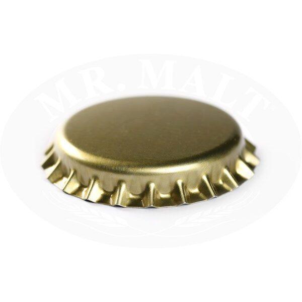 Krona korķi 26mm, zelta (100 gab.)